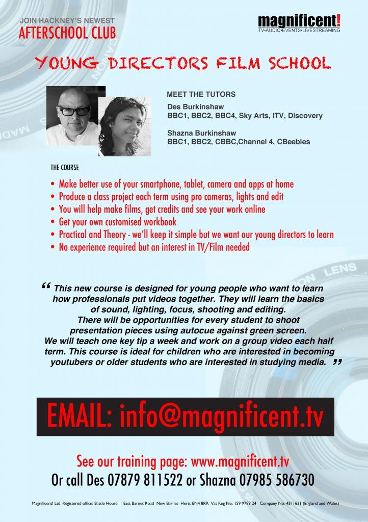 Young Directors Leaflet